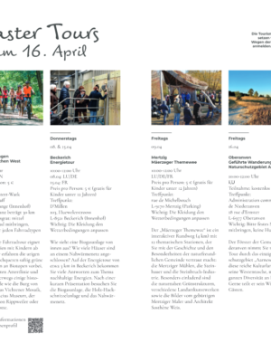 Guided Easter Tours DE
