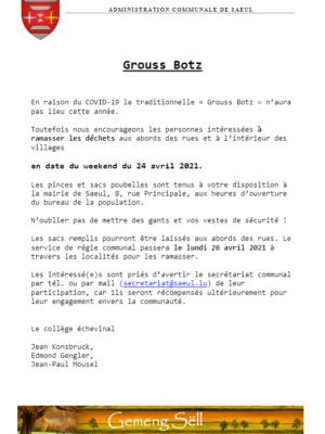 Grouss Botz 2021