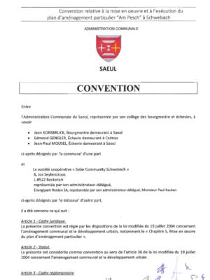 PAP am Pesch Schwebach - convention SCS