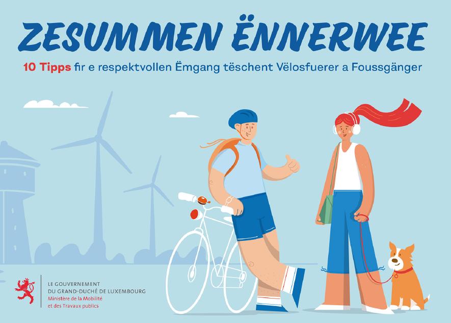 Zesummen Ënnerwee – Together on the road